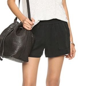 Joie Black Workout Shorts